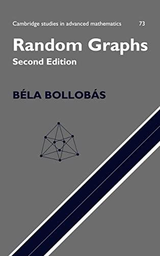 9780521809207: Random Graphs (Cambridge Studies in Advanced Mathematics)