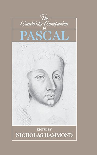 9780521809245: The Cambridge Companion to Pascal (Cambridge Companions to Philosophy)