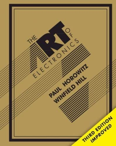 The Art of Electronics 9780521809269 At long last, here is the thoroughly revised and updated third edition of the hugely successful The Art of Electronics. It is widely accepted as the best single authoritative book on electronic circuit design, and is in fact so popular that it has been counterfeited - so beware if purchasing from a third party via an online retailer, as you may receive a very inferior physical product. In addition to new or enhanced coverage of many topics, the third edition includes 90 oscilloscope screenshots illustrating the behavior of working circuits, dozens of graphs giving highly useful measured data of the sort that is often buried or omitted in datasheets but which you need when designing circuits, and 80 tables (listing some 1650 active components), enabling intelligent choice of circuit components by listing essential characteristics (both specified and measured) of available parts. The new Art of Electronics retains the feeling of informality and easy access that helped make the earlier editions so successful and popular. It is an indispensable reference and the gold standard for anyone, student or researcher, professional or amateur, who works with electronic circuits.