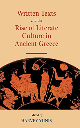 9780521809306: Written Texts and the Rise of Literate Culture in Ancient Greece