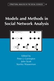 9780521809597: Models and Methods in Social Network Analysis Hardback (Structural Analysis in the Social Sciences)