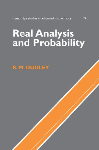 9780521809726: Real Analysis and Probability (Cambridge Studies in Advanced Mathematics)
