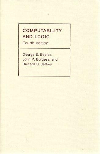 9780521809757: Computability and Logic
