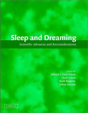 9780521810449: Sleep and Dreaming: Scientific Advances and Reconsiderations