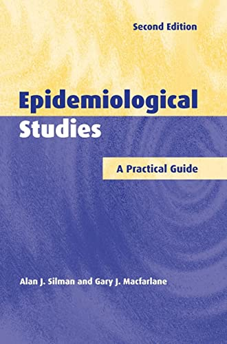 9780521810975: Epidemiological Studies: A Practical Guide