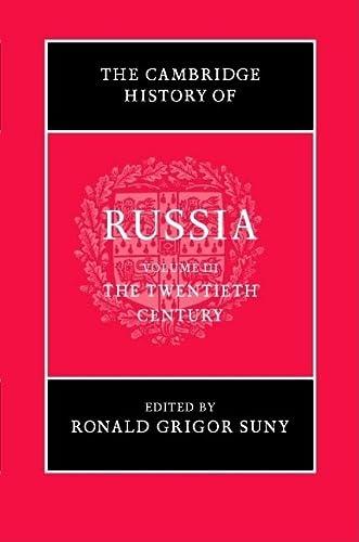 9780521811446: The Cambridge History of Russia: Volume 3, The Twentieth Century