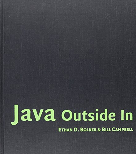 9780521811989: Java Outside In Hardback with CD-ROM