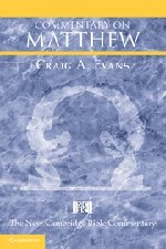 9780521812146: Matthew Hardback (New Cambridge Bible Commentary)