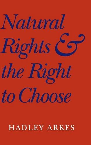 9780521812184: Natural Rights and the Right to Choose