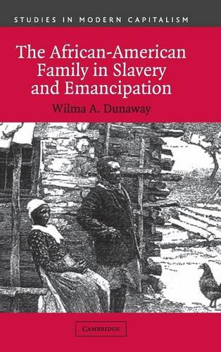 9780521812764: The African-American Family in Slavery and Emancipation (Studies in Modern Capitalism)