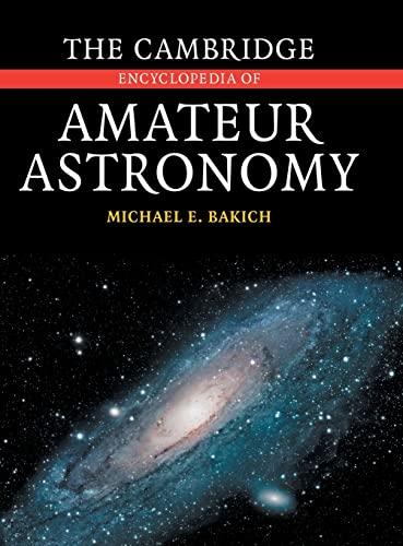 9780521812986: The Cambridge Encyclopedia of Amateur Astronomy
