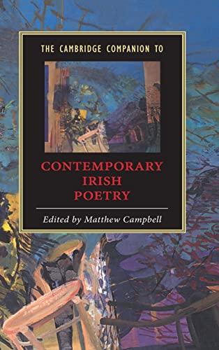 9780521813013: The Cambridge Companion to Contemporary Irish Poetry (Cambridge Companions to Literature)