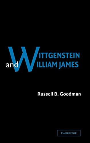 9780521813150: Wittgenstein and William James