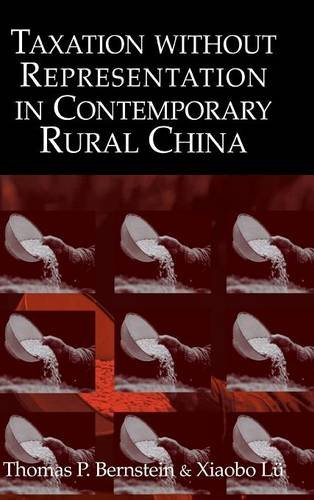 9780521813181: Taxation without Representation in Contemporary Rural China (Cambridge Modern China Series)