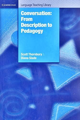 9780521814263: Conversation Hardback: From Description to Pedagogy (Cambridge Language Teaching Library)