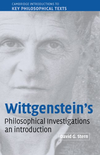 9780521814423: Wittgenstein's Philosophical Investigations: An Introduction (Cambridge Introductions to Key Philosophical Texts)