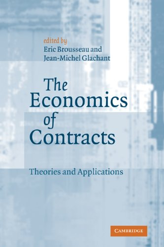 9780521814904: The Economics of Contracts: Theories and Applications