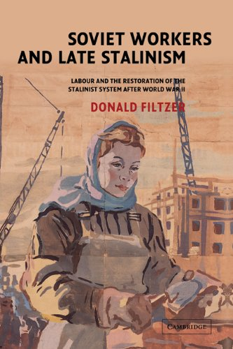 9780521815031: Soviet Workers and Late Stalinism: Labour and the Restoration of the Stalinist System after World War II
