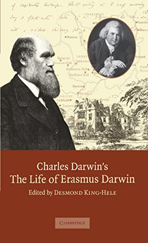 Charles Darwin's 'The Life of Erasmus Darwin'.: DARWIN, Erasmus) [DARWIN,