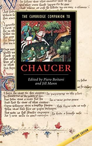 9780521815567: The Cambridge Companion to Chaucer (Cambridge Companions to Literature)