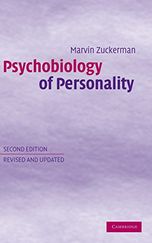 9780521815697: Psychobiology of Personality