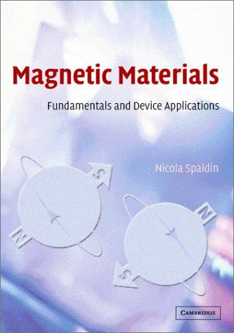 9780521816311: Magnetic Materials: Fundamentals and Device Applications