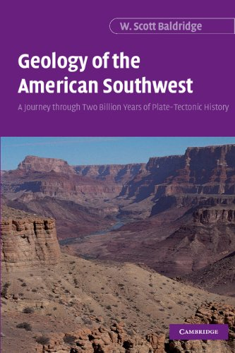 9780521816397: Geology of the American Southwest: A Journey through Two Billion Years of Plate-Tectonic History