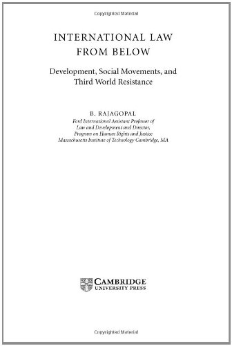 9780521816465: International Law from Below: Development, Social Movements and Third World Resistance