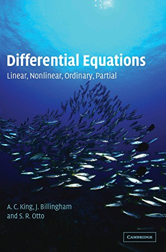 9780521816588: Differential Equations: Linear, Nonlinear, Ordinary, Partial