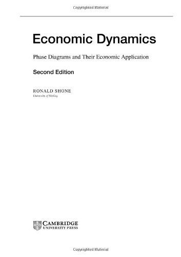 9780521816847: Economic Dynamics: Phase Diagrams and their Economic Application