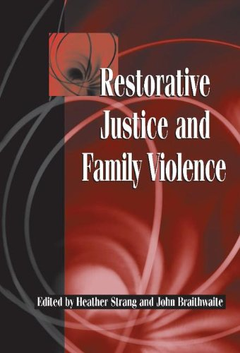 9780521818469: Restorative Justice and Family Violence