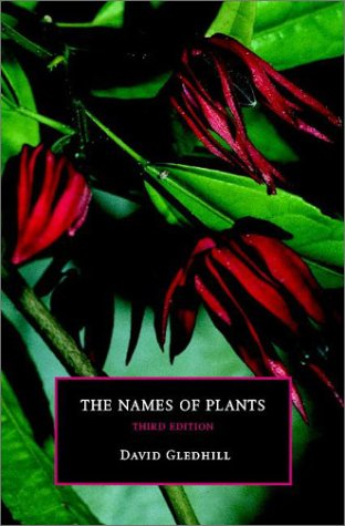 9780521818636: The Names of Plants