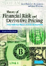 9780521819169: Theory of Financial Risk and Derivative Pricing 2nd Edition Hardback: From Statistical Physics to Risk Management