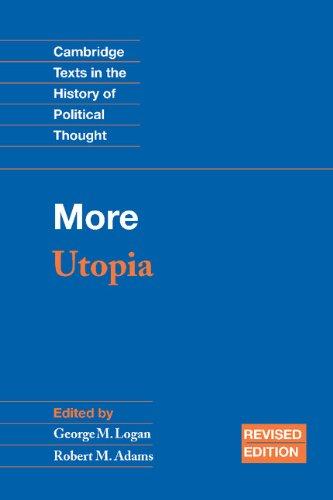 9780521819251: More: Utopia