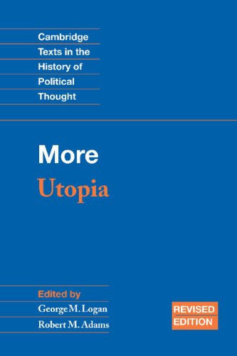 9780521819251: More: Utopia (Cambridge Texts in the History of Political Thought)