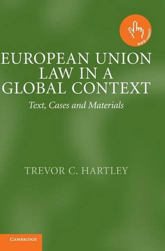 9780521820301: European Union Law in a Global Context: Text, Cases and Materials