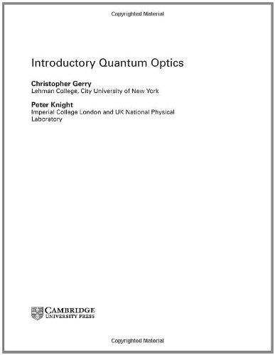 9780521820356: Introductory Quantum Optics