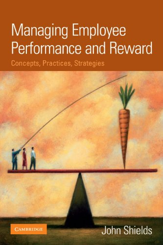 9780521820462: Managing Employee Performance and Reward Paperback: Concepts, Practices, Strategies