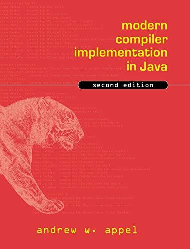 9780521820608: Modern Compiler Implementation in Java 2nd Edition Hardback