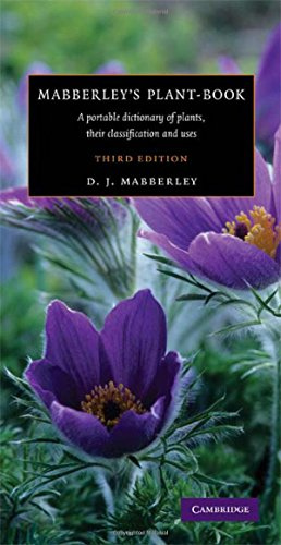 9780521820714: Mabberley's Plant-book: A Portable Dictionary of Plants, their Classification and Uses