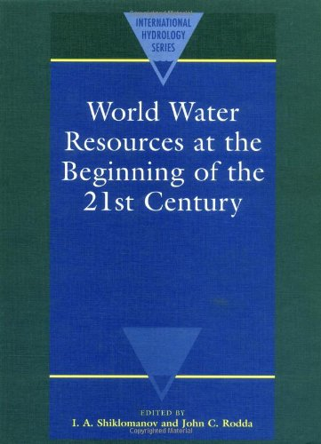 9780521820851: World Water Resources at the Beginning of the Twenty-First Century (International Hydrology Series)