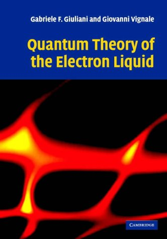 9780521821124: Quantum Theory of the Electron Liquid
