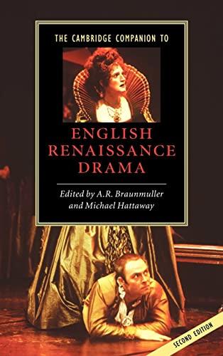 9780521821155: The Cambridge Companion to English Renaissance Drama (Cambridge Companions to Literature)