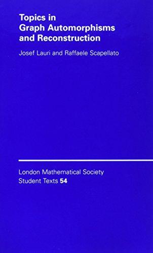 Topics in Graph Automorphisms and Reconstruction (Hardback): Josef Lauri, Raffaele