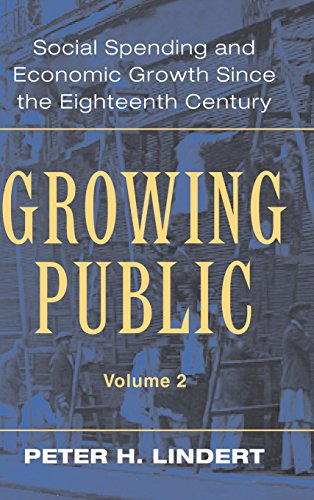 9780521821759: Growing Public: Volume 2, Further Evidence Hardback: Social Spending and Economic Growth Since the Eighteenth Century: Further Evidence Vol 2