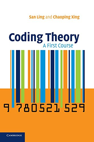 9780521821919: Coding Theory: A First Course