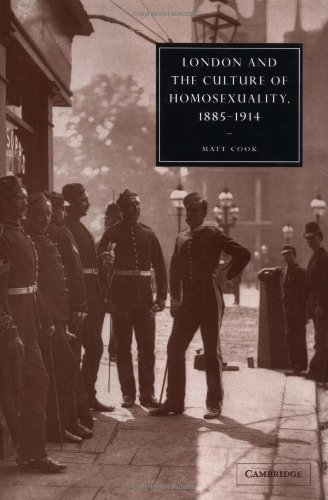 9780521822077: London and the Culture of Homosexuality, 1885-1914 (Cambridge Studies in Nineteenth-Century Literature and Culture)