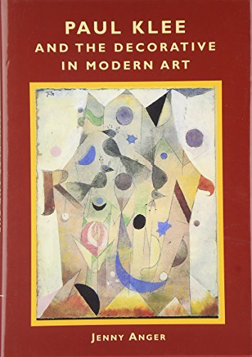 9780521822503: Paul Klee and the Decorative in Modern Art