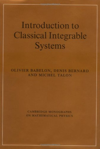 9780521822671: Introduction to Classical Integrable Systems (Cambridge Monographs on Mathematical Physics)