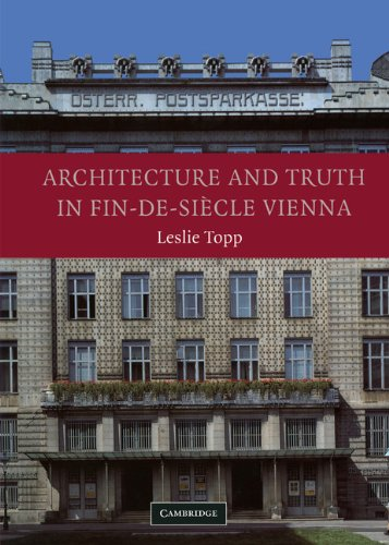 9780521822756: Architecture and Truth in Fin-de-Siècle Vienna Hardback